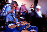 Afternoon Meal - Çaliher, eastern Turkey (2006)