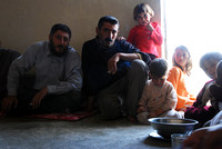 Yusef with Some of his Children - Sinjar Region, northern Iraq (2009)