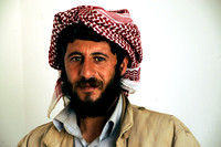 Sheikh Nawaf son of Sheikh Murad - Sinjar Region, northern Iraq (2012)