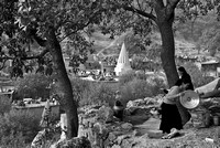 Overlooking the Valley - Lalish, northern Iraq (2010)