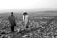Shepherds wearing Kulavs - Karacadağ Region, eastern Turkey (2007)